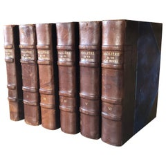 "Original Six Volumes by Molière ""Sa vie son œuvre"", 1930"