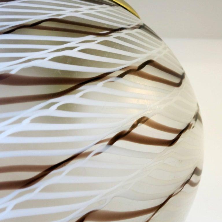 Italian Original Spiraled Pendant by La Murrina For Sale