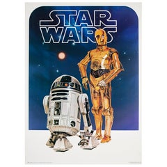 "Original ""Star Wars"", 1977 Film Movie Poster US Commercial"