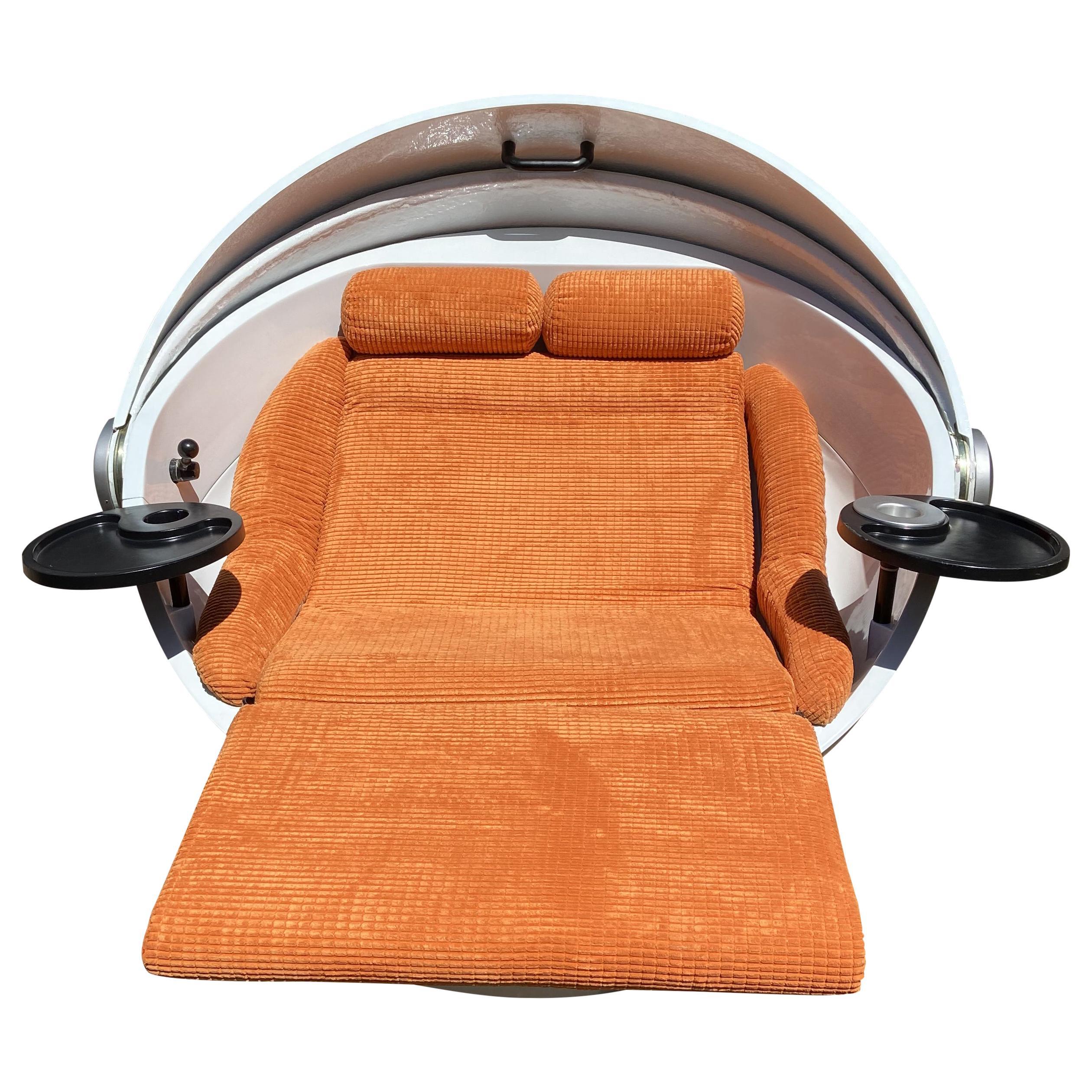 Original Sunball Chair by Gunter Ris and Ferdinand Selldorf for Rosenthal