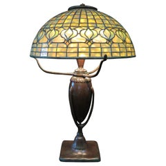 Original Tiffany Studios Pomegranate Table Lamp