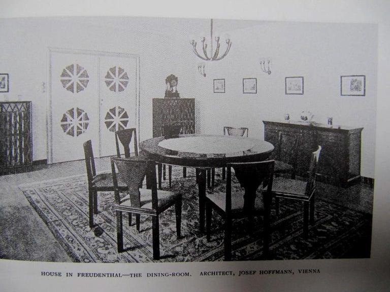 Original Unique Josef Hoffmann&Wiener Werkstätte Art Deco Jugendstil Chandelier For Sale 1