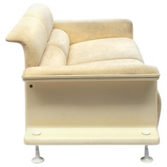 Original Velvet Two-Seat Sofa BZ28 by Gerd Lange 't Spectrum, 1970