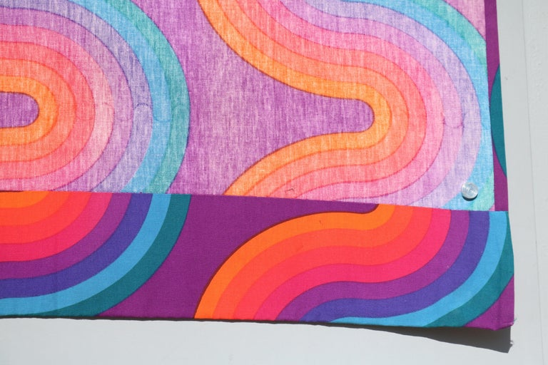 Original Verner Panton Curtain By Mira X Fabrics Spectrum