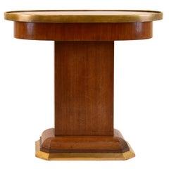 Original Viennese Oval Mahogany Table, Early 20th Century, 1910