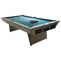 Original Vintage Brunswick White Gt POOL Table, 1960s