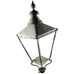 Original Vintage Copper Lantern Frame, 20th Century