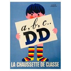 Original Vintage French Advertising Poster Hever Morvan 1972