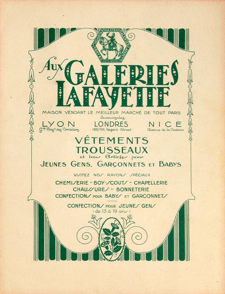 Original Vintage Galeries Lafayette Poster The Size Goes Up? Ft. Girl And Corset In Excellent Condition For Sale In London, GB
