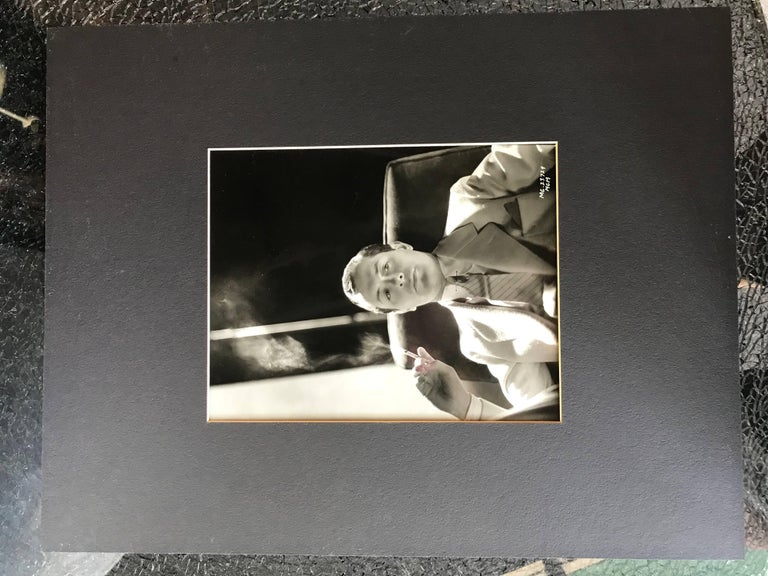 Original Vintage Hollywood Glamour Photograph of Robert Montgomery In Excellent Condition For Sale In Palm Springs, CA