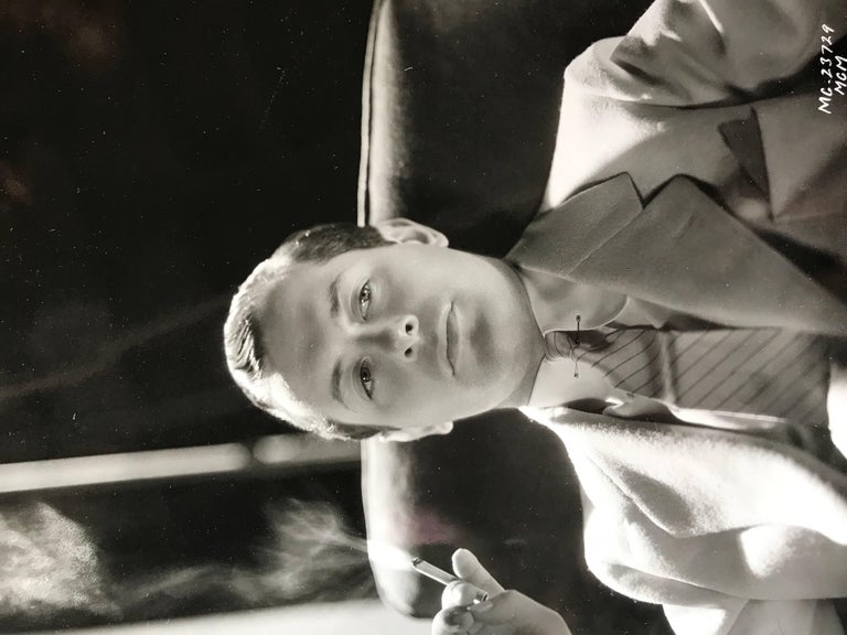 20th Century Original Vintage Hollywood Glamour Photograph of Robert Montgomery For Sale