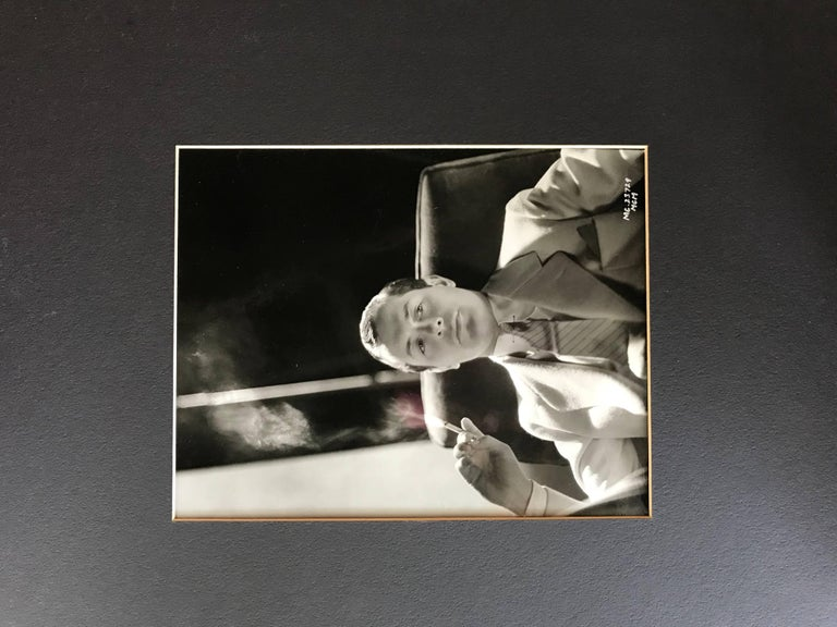 Original Vintage Hollywood Glamour Photograph of Robert Montgomery For Sale 1
