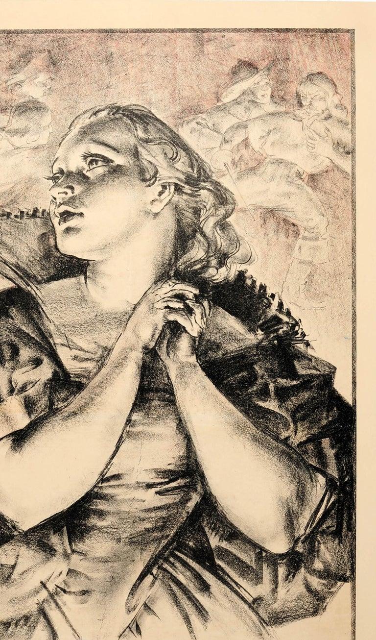British Original Vintage 1935 London Theatre Poster For London Drama London Transport For Sale