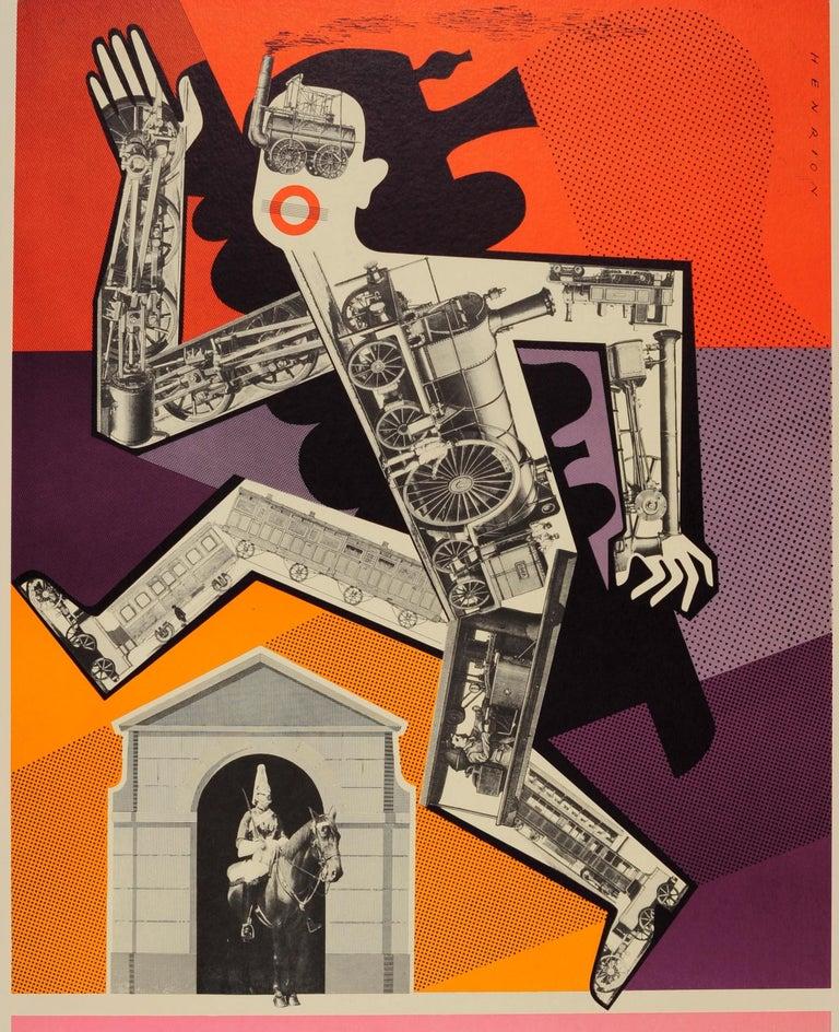 British Original Vintage London Underground Poster - Psychology Pstudent at Horse Guards For Sale