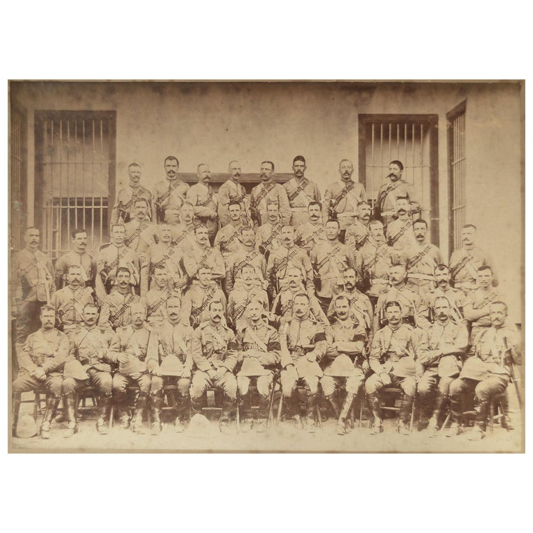Original Vintage Military Photograph, Indian Campaign For Sale