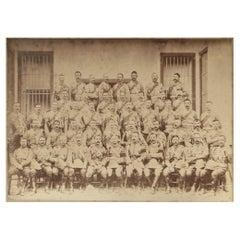 Original Vintage Military Photograph, Indian Campaign