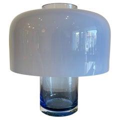 Original Vintage Model LT 226 Table Lamp and Vase by Carlo Nason for Mazzega