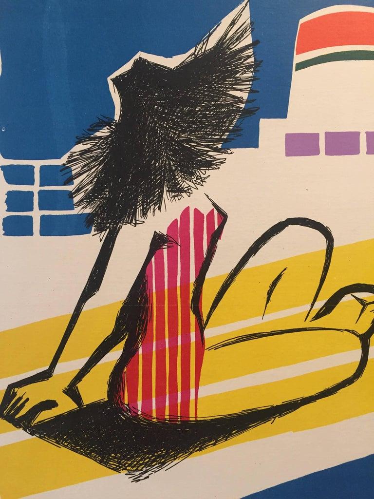 Artist  Jean Colin  Year  1950s  Dimensions: 106 x 70 cm  Condition  Good.