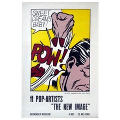 Original Vintage Poster The New Image Pop Art Exhibition Sweet Dreams Baby Pow!