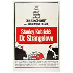 Original Vintage Stanley Kubrick Film Poster Dr Strangelove America Soviet Union