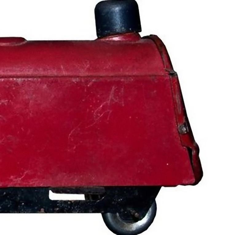 Original Vintage Toy, Small Train and Trailer, 1920s In Good Condition For Sale In Roma, IT