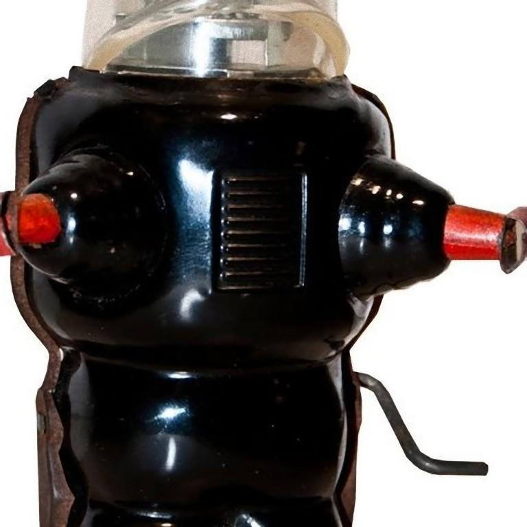 French Original Vintage Toy, Wind Up Robby the Robot, 1950s For Sale