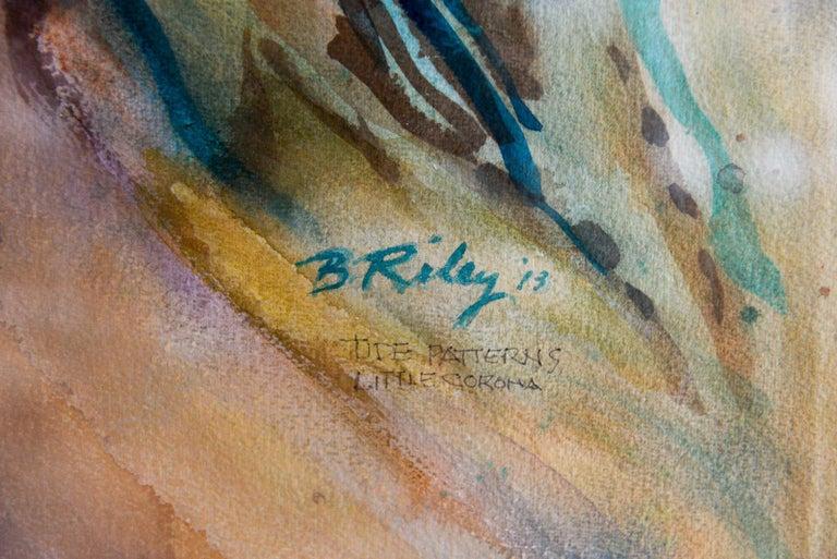 Paper Original Watercolor by California Artist, Bernice Riley, 2013 For Sale