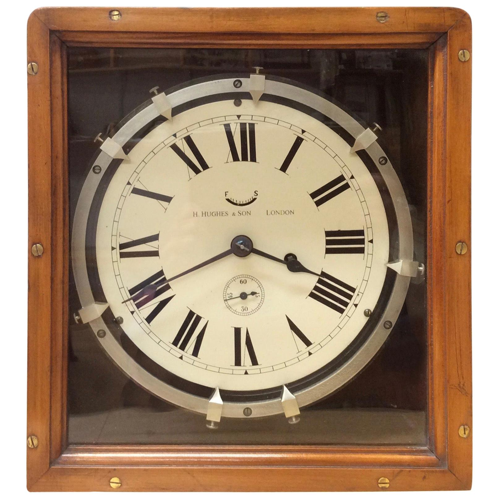Original World War I Zig-Zag Clock