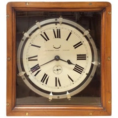 Original World War I Zig-Zag Clock