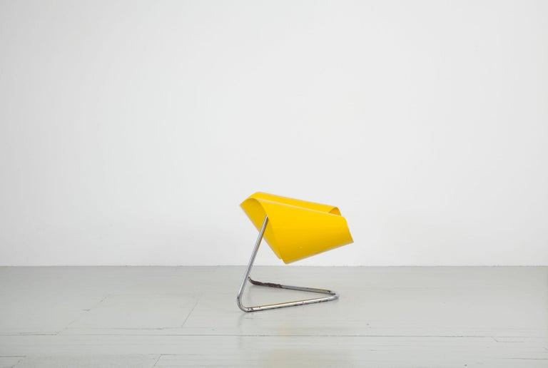 Mid-Century Modern Original Yellow