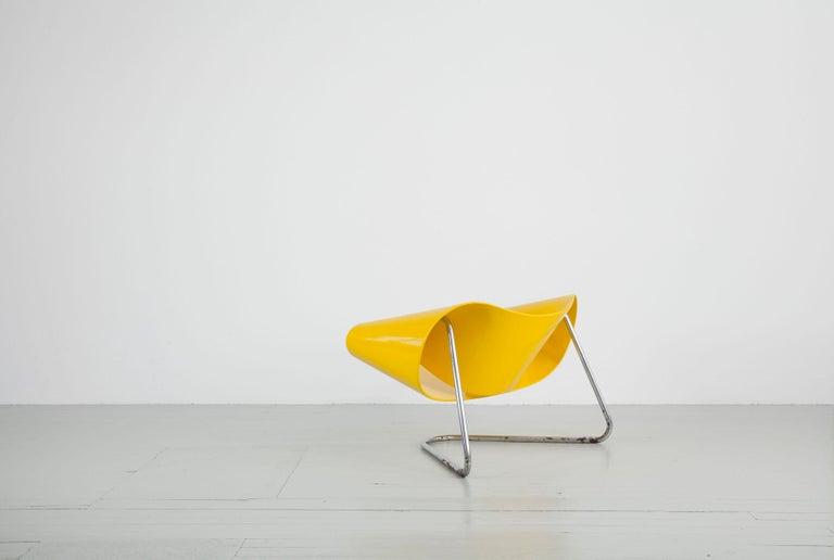 Mid-20th Century Original Yellow