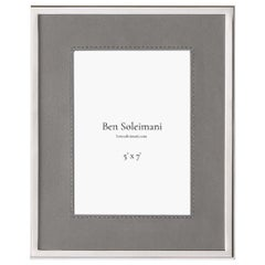 "Ben Soleimani Orilla Picture Frame - Heather 5"" x 7"""