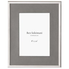 "Ben Soleimani Orilla Picture Frame - Heather 8"" x 10"""