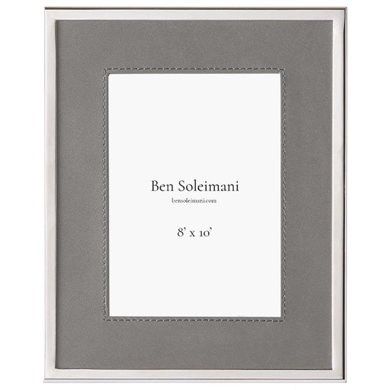 "Ben Soleimani Orilla Picture Frame - Heather 8"" x 10"" For Sale"