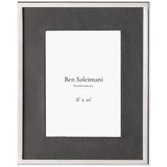 "Ben Soleimani Orilla Picture Frame - Pewter 8"" x 10"""