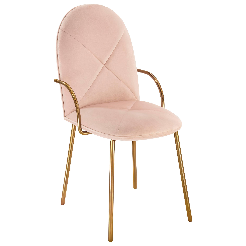 Orion Chair Blush Rose by Nika Zupanc for Scarlet Splendour