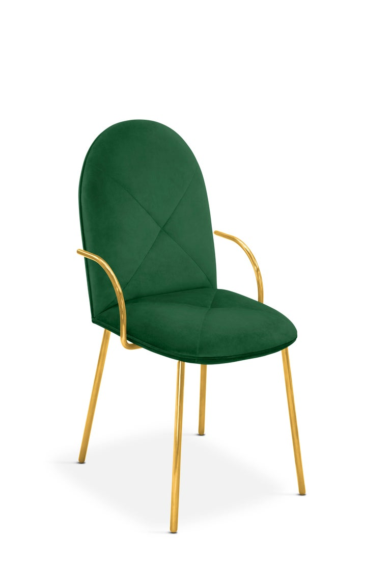 Other Orion Chair Green by Nika Zupanc for Scarlet Splendour For Sale