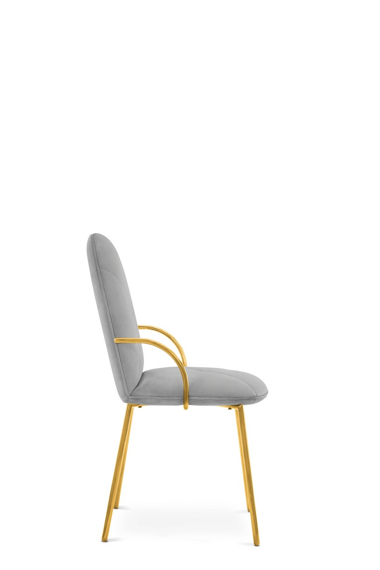 Other Orion Chair Grey by Nika Zupanc for Scarlet Splendour For Sale