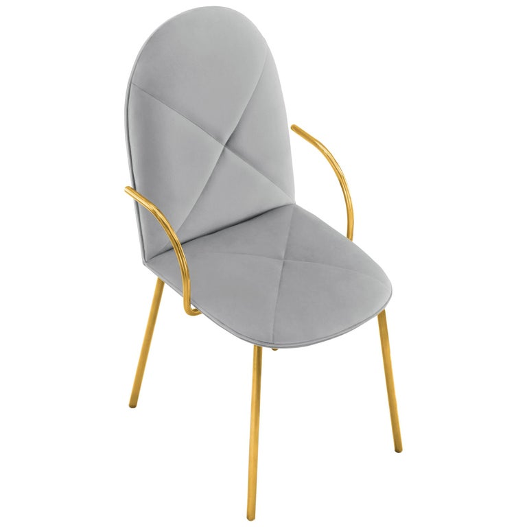 Orion Chair Grey by Nika Zupanc for Scarlet Splendour For Sale