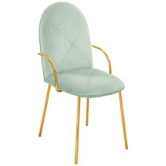 Orion Chair Jade by Nika Zupanc for Scarlet Splendour