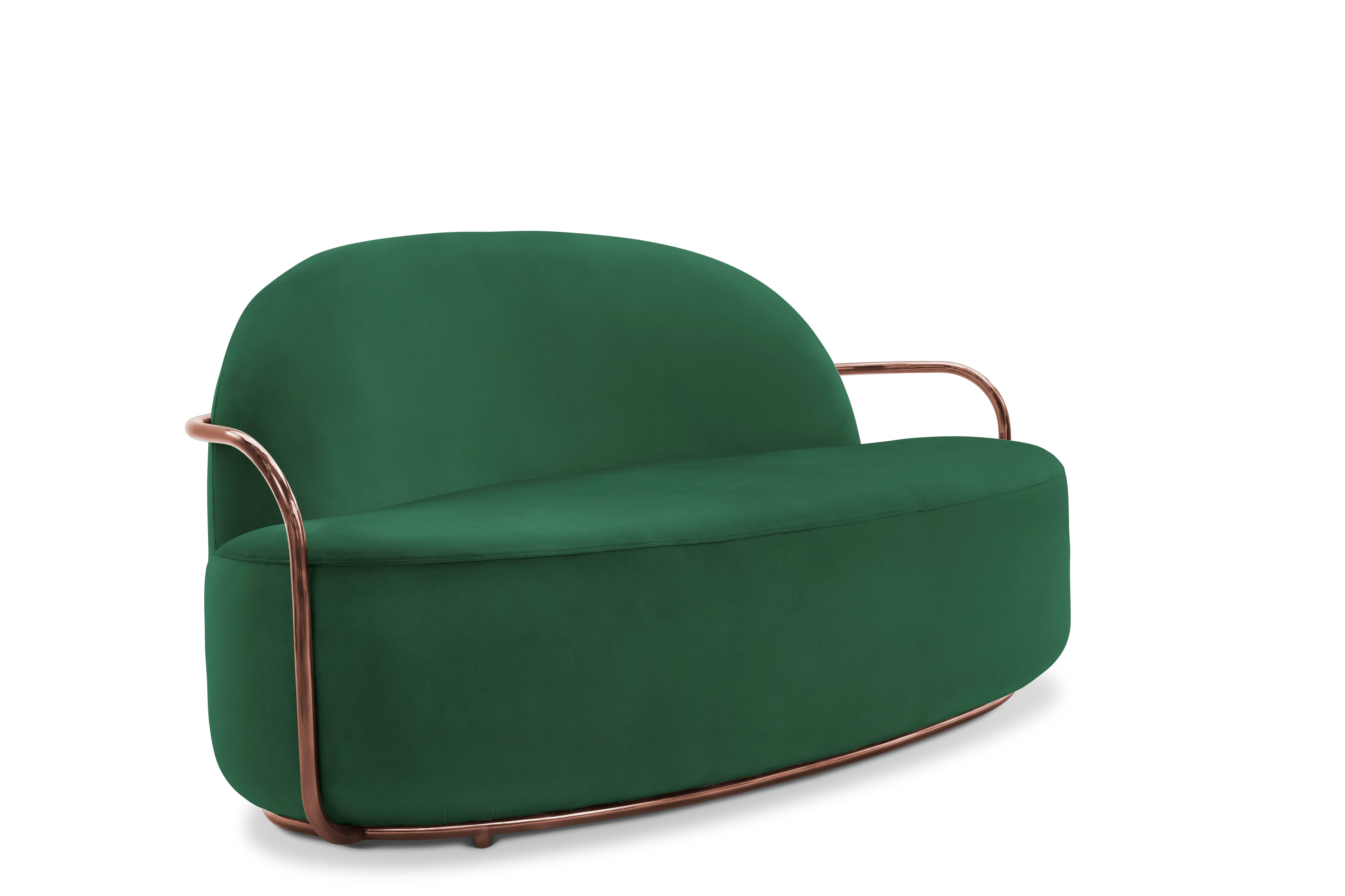 Orion Sofa Green By Nika Zupanc For Scarlet Splendour For Sale At