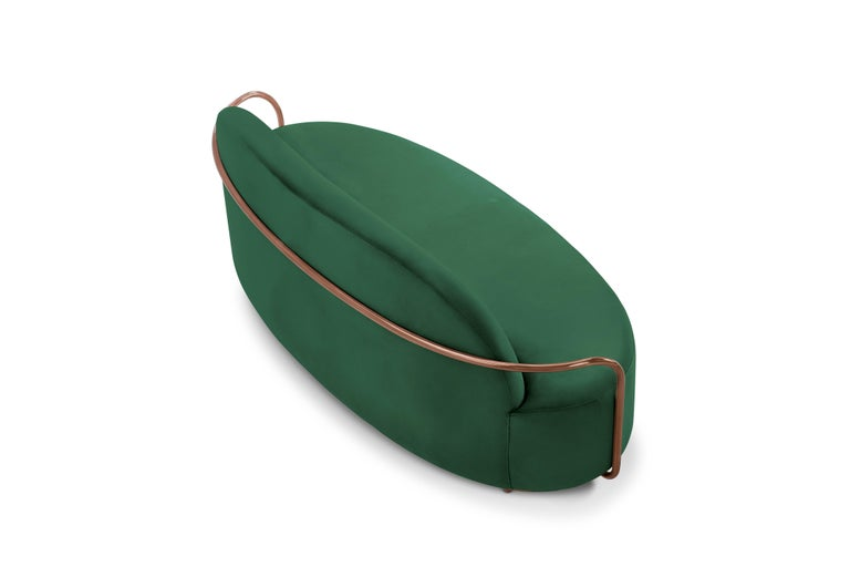 Other Orion Sofa Green by Nika Zupanc for Scarlet Splendour For Sale