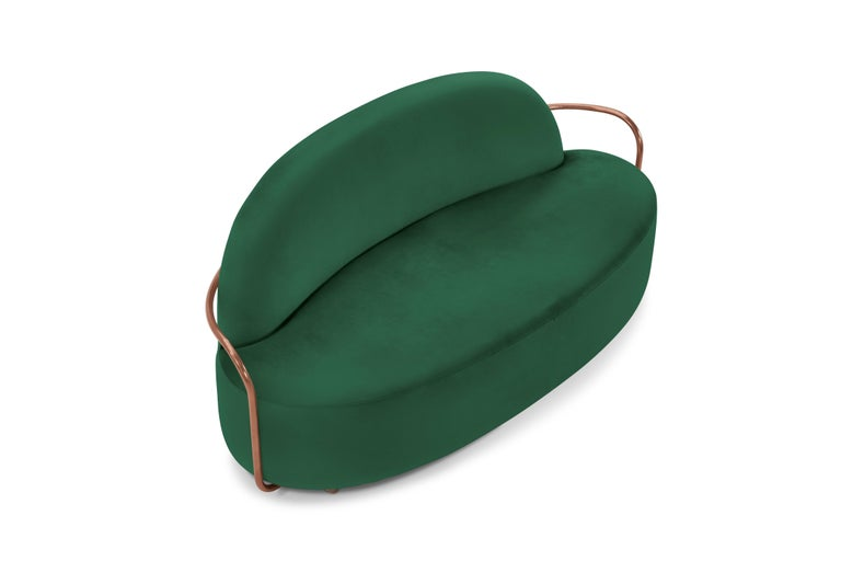 Indian Orion Sofa Green by Nika Zupanc for Scarlet Splendour For Sale
