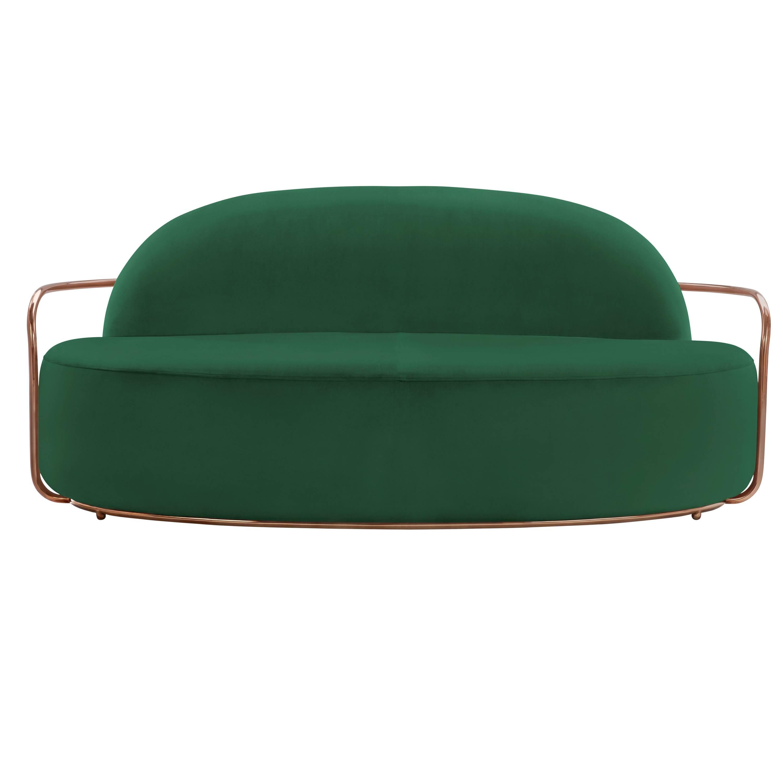 Orion Sofa Green by Nika Zupanc for Scarlet Splendour