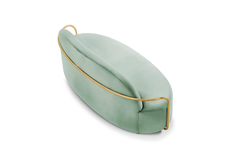 Other Orion Sofa Jade by Nika Zupanc for Scarlet Splendour For Sale