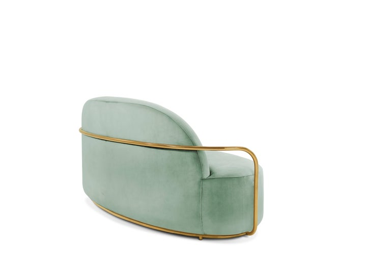 Orion Sofa Jade by Nika Zupanc for Scarlet Splendour In New Condition For Sale In Firenze, IT