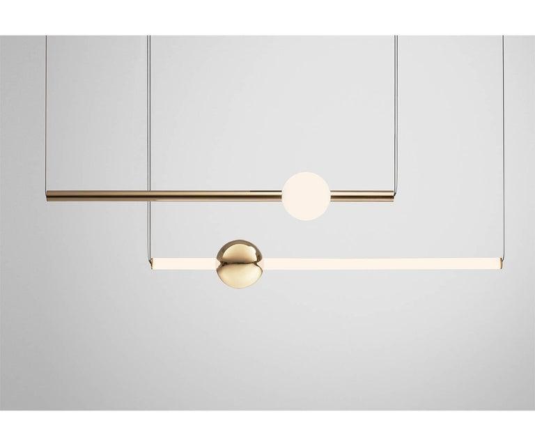 Modern Orion Tube Suspension Lamp For Sale