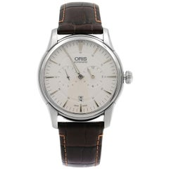 Oris Artelier Regulateur White Dial Men's Watch 01 749 7667 4051-07 1 21 73FC
