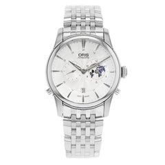 Oris Artelier Steel Silver Limited Edition Automatic Men's Watch 690 7690 4081