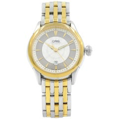 Oris Artelier Two-Tone Stainless Steel Automatic Ladies Watch 561-7604-4351MB